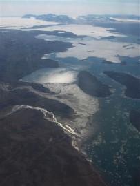 Fjord bij Ittoqqortoormiit. Foto Koos Dijksterhuis