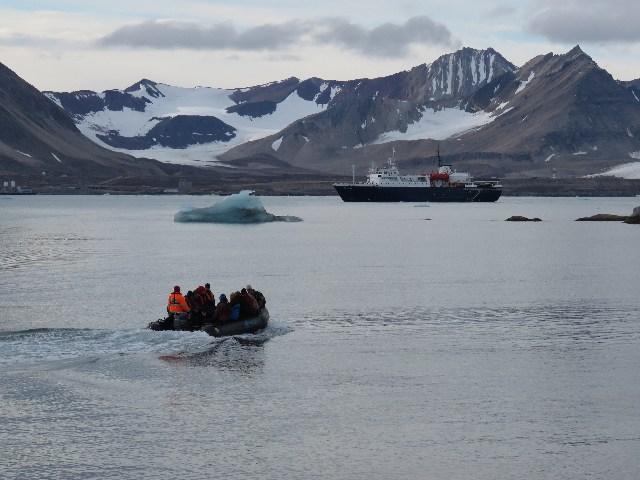 De Ortelius, het ijsbestendige schip van Oceanwide. Foto Koos Dijksterhuis